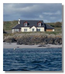 Shore Cottage Iona Scotland UK